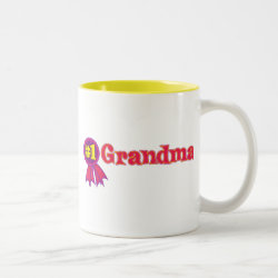 Two-Tone Mug with #1 Grandma Award design