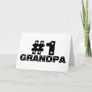#1 Grandpa Card