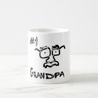 #1 Grandpa Coffee Mug