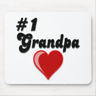 #1 Grandpa - Grandparent's Day Mouse Pad
