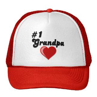 #1 Grandpa - Grandparent's Day Trucker Hat