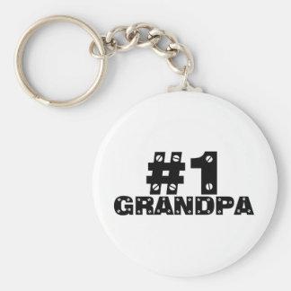 #1 Grandpa Keychain