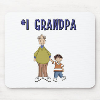 #1 Grandpa Mouse Pad