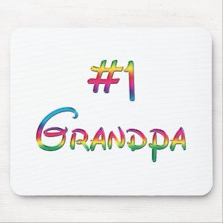 #1 Grandpa Mouse Pads
