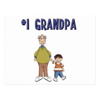 #1 Grandpa Postcard