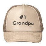 #1 Grandpa Trucker Hat