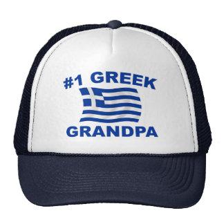 #1 Greek Grandpa Trucker Hat