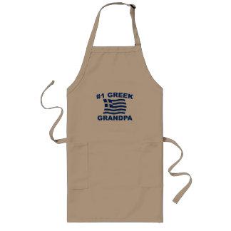 #1 Greek Grandpa Long Apron