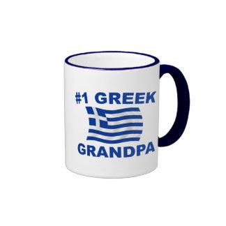 #1 Greek Grandpa Coffee Mug