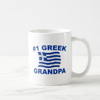 #1 Greek Grandpa Classic White Coffee Mug