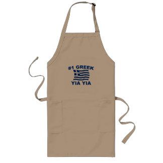 #1 Greek Yia Yia Long Apron
