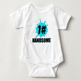 1# Handsome Baby Bodysuit