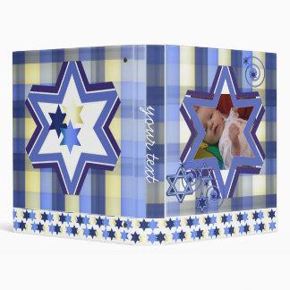 "1"" Hanukkah Photo Album Binders"