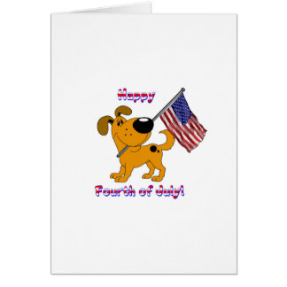 1- Happy Fourth of July! Greeting Card
