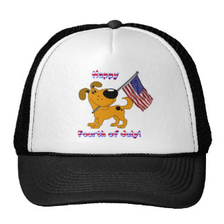 1- Happy Fourth of July! Mesh Hats