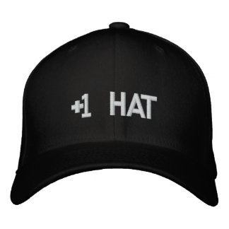 +1 Hat Embroidered Hats