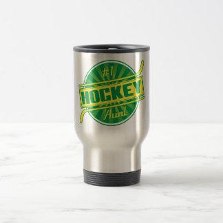 #1 Hockey Aunt Travel Mug