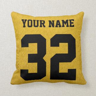 #1 Hockey Dad Customize Your Own Pillow! Throw Pillows