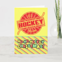 #1 Hockey Mom Christmas Card