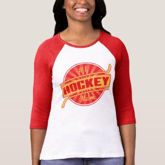 #1 Hockey Mom T Shirts