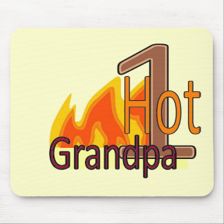 1 Hot Grandpa mousepad