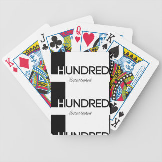 1 Hundred© Brand Goods Bicycle Playing Cards