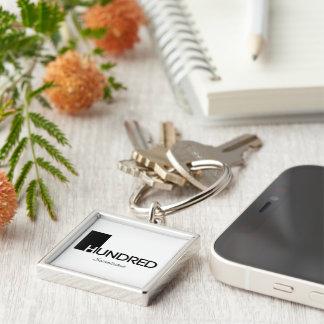 1 Hundred© Brand Goods Keychain