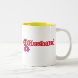 Two-Tone Mug with #1 Husband Award design
