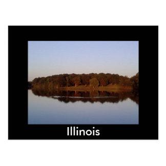 1, Illinois Postcard