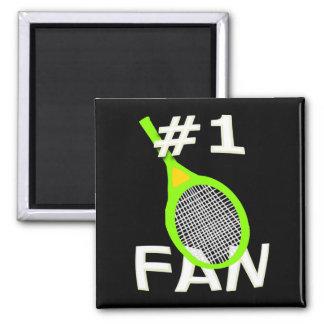 # 1 imán de la fan de tenis (estafa verde de neón)