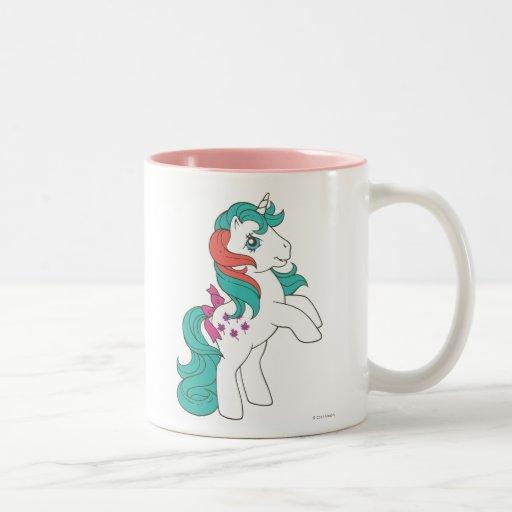 1 impetuoso taza de café de dos colores