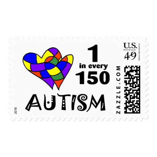 1 in 150 (2 Hrts) Postage Stamps