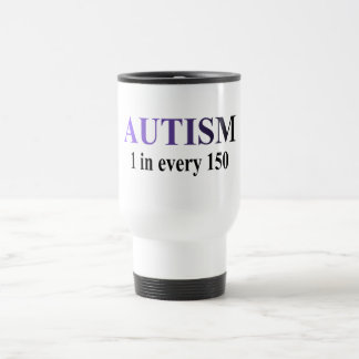 1 in 150 (Purple/Blk) Travel Mug