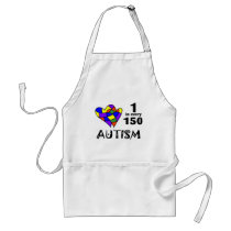 1 In 150 (Two Hearts) Adult Apron