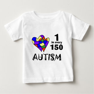 1 In 150 (Two Hearts) Baby T-Shirt