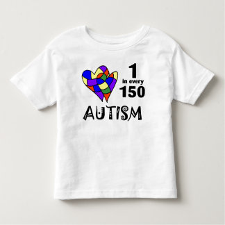 1 In 150 (Two Hearts) Toddler T-shirt
