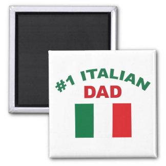 #1 Italian Dad Magnet