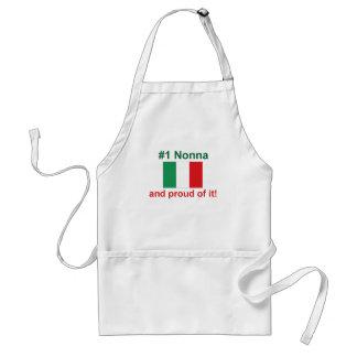 #1 italiano Nonna (abuela) Delantal