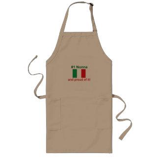 ¡#1 italiano Nonna y orgulloso de él! Regalo Delantales