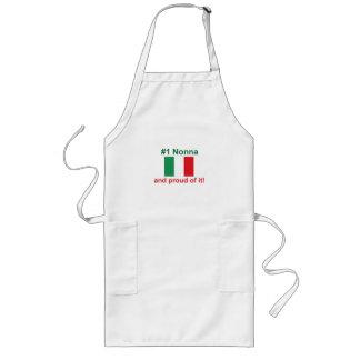 ¡#1 italiano Nonna y orgulloso de él! Regalo Delantal