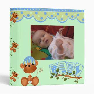 """1"""" It's A Baby Boy Photo Album 3 Ring Binder"""