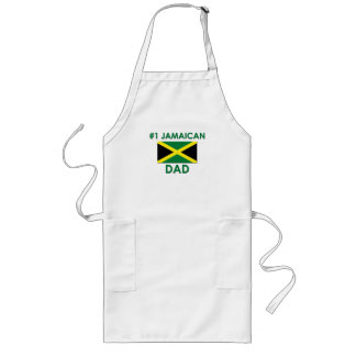 #1 Jamaican Dad Long Apron