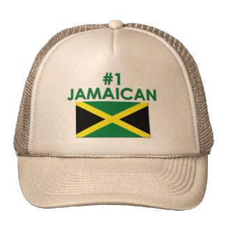 #1 Jamaican Trucker Hats