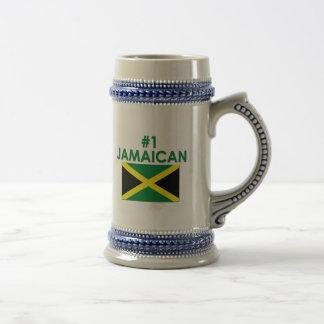 #1 Jamaican 18 Oz Beer Stein