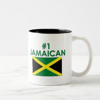 #1 Jamaican Two-Tone Coffee Mug