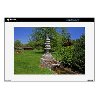 "1 Joe and Marie Schedel Pagoda-horizontal.JPG 15"" Laptop Skins"