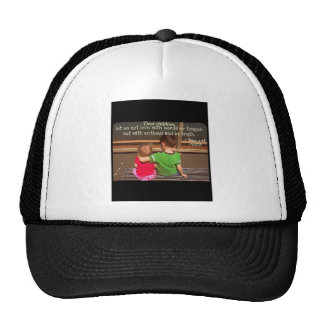 1 John 3:18 Trucker Hat