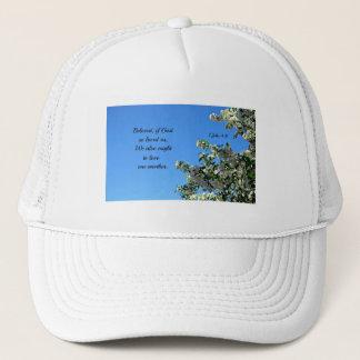 1 John 4:11 Beloved, if God so loved us... Trucker Hat
