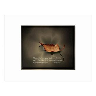 1 John 4:12 Postcard