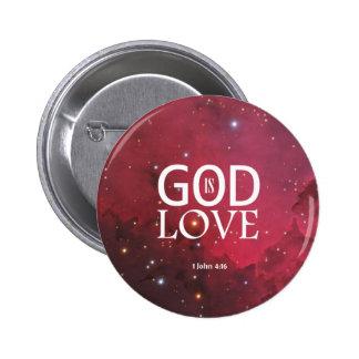 1 John 4:16 Button